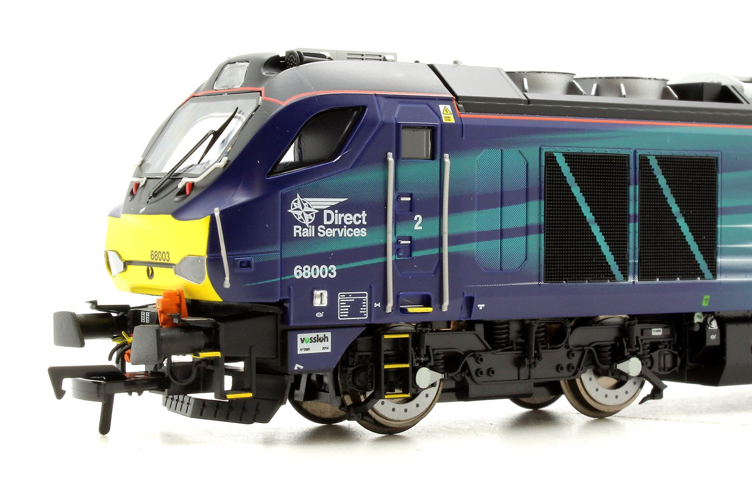 "Class 68 68003 ""Astute"" in Direct Rail Services compass livery Early Service"