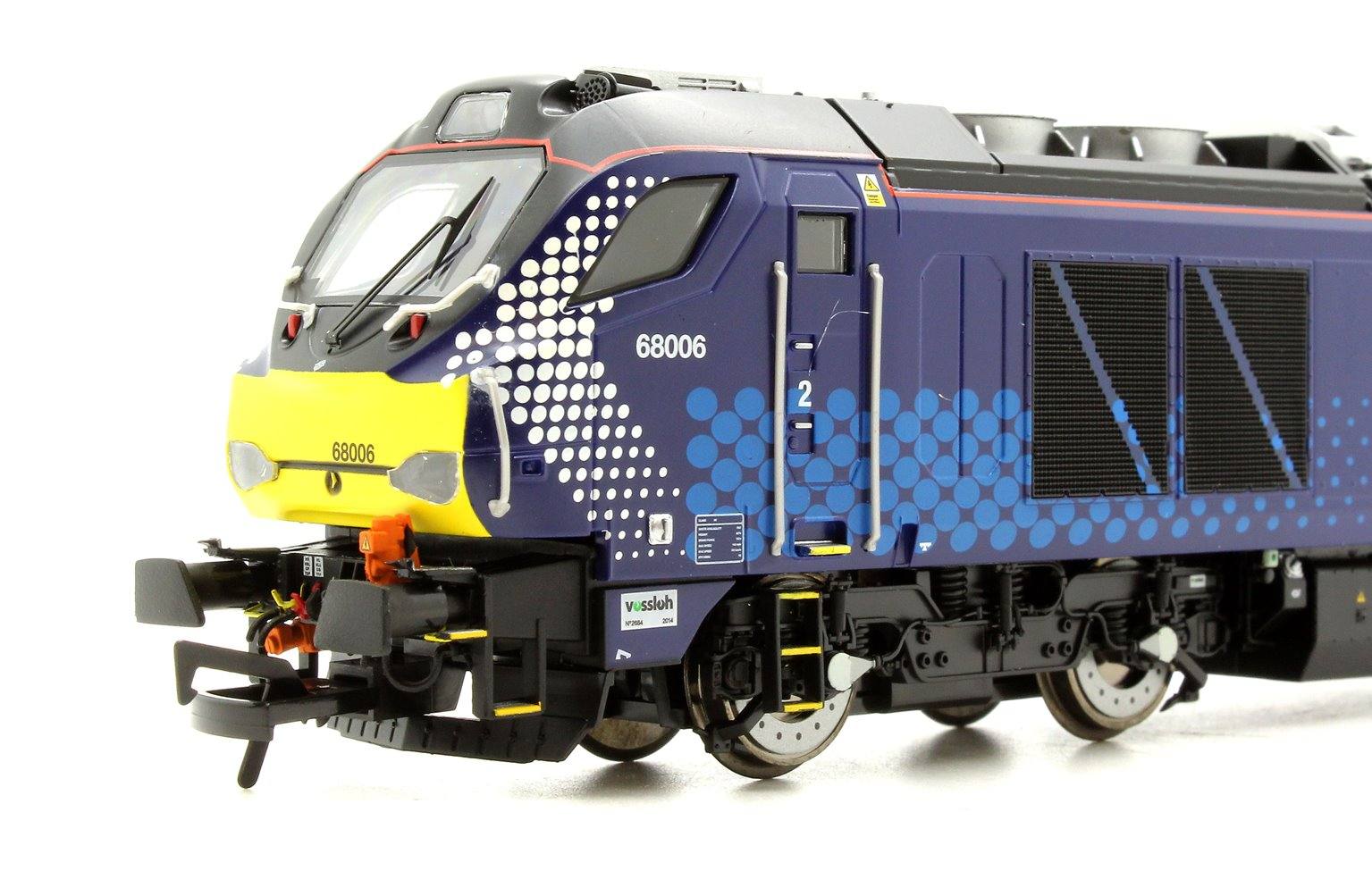 "Class 68 68006 ""Daring"" in Scotrail livery late modified DCC Fitted"