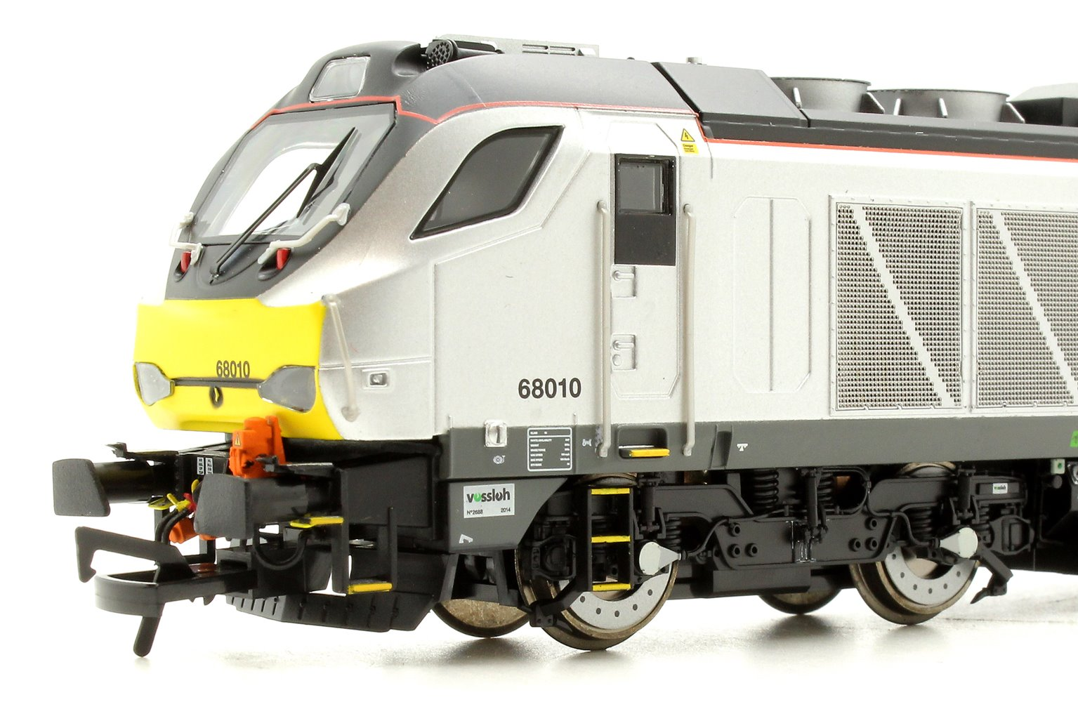 "Class 68 68010 ""Oxford Flier"" in Chiltern Railways livery late modified DCC Sound"