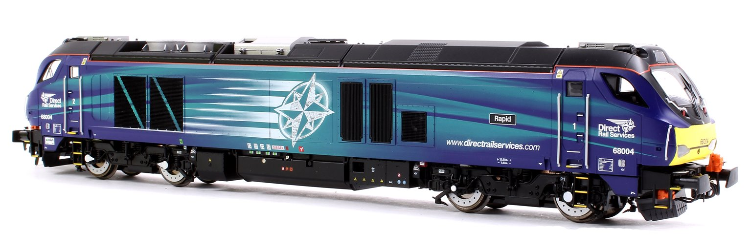 Class 68 004 'Rapid' DRS Compass Livery Diesel Locomotive