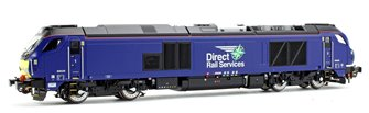 Class 68 026 DRS Plain Blue Diesel Locomotive DCC FITTED