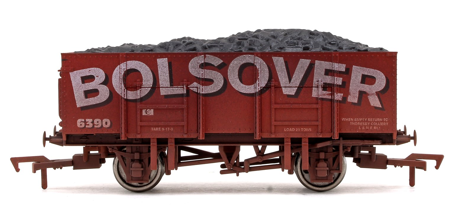 'Bolsover' 20T Mineral Wagon No.6390 (Weathered Edition)