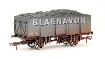 20t Steel Mineral Wagon Blaenavon Weathered