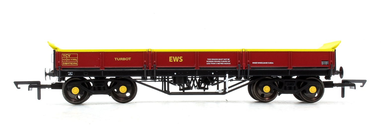 Turbot Bogie Ballast Wagon EWS Maroon DB978396