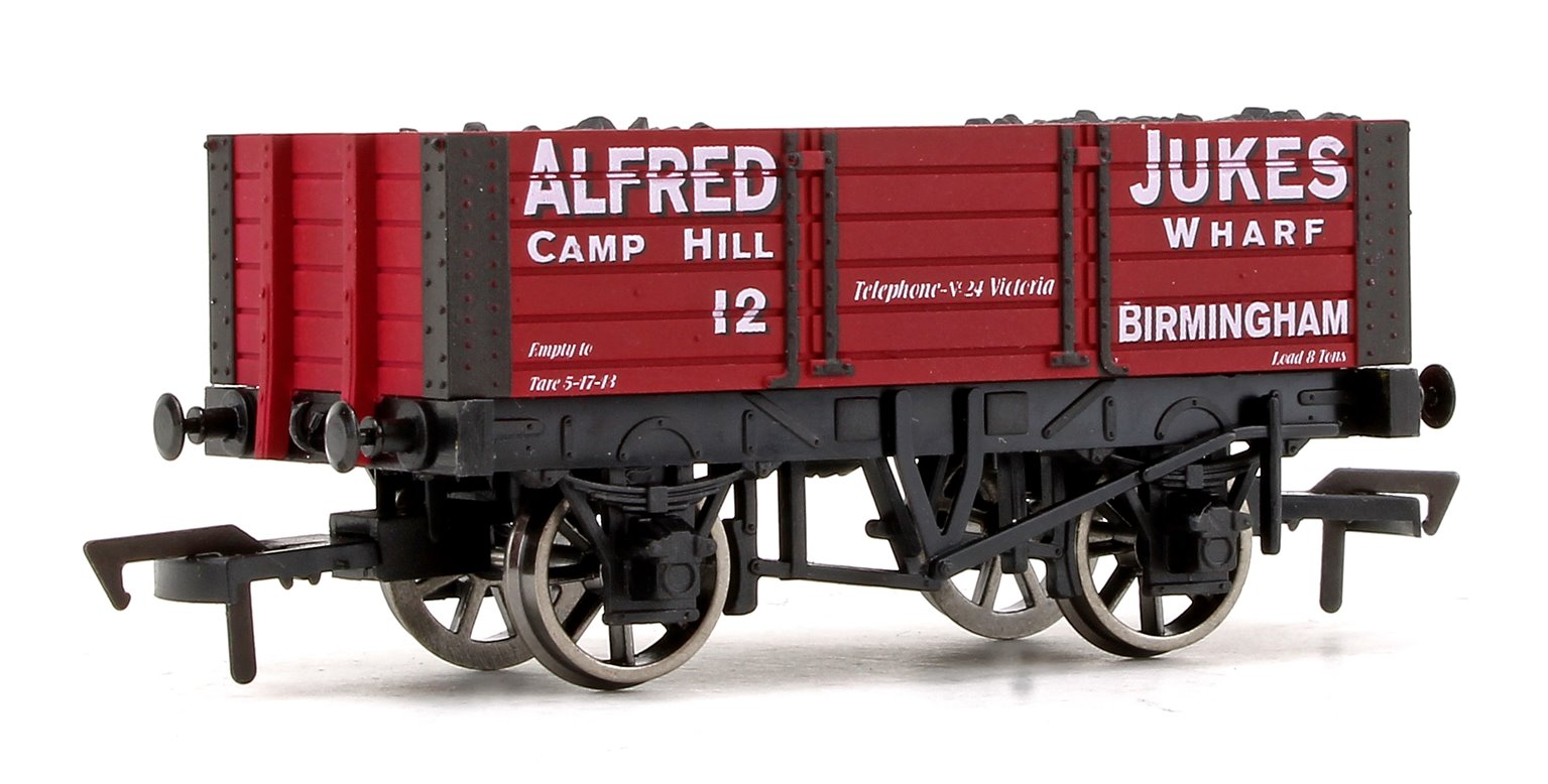 'Alfred Jukes' 5 Plank Wagon 9ft Wheelbase No.12