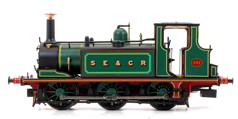 Stroudley Terrier A1X Class SE&CR Green 0-6-0 Tank Locomotive No.751 DCC Ready