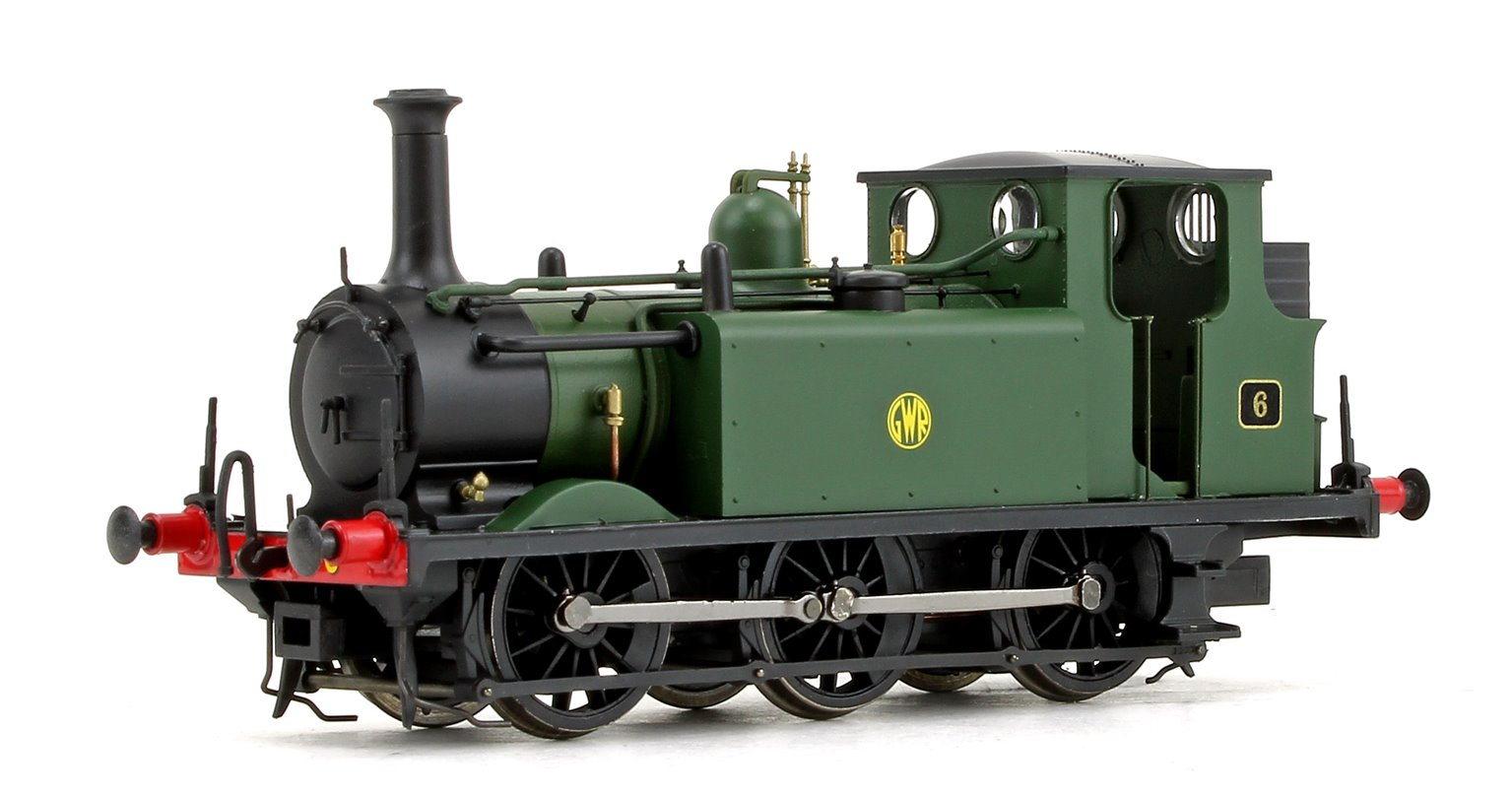 Stroudley Terrier A1X Class GWR Green 0-6-0 Tank Locomotive No.6 DCC Ready