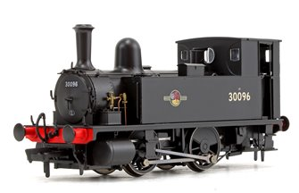 LSWR Class B4  BR Black (Late Crest) 0-4-0 Tank Locomotive No.30096 DCC Fitted