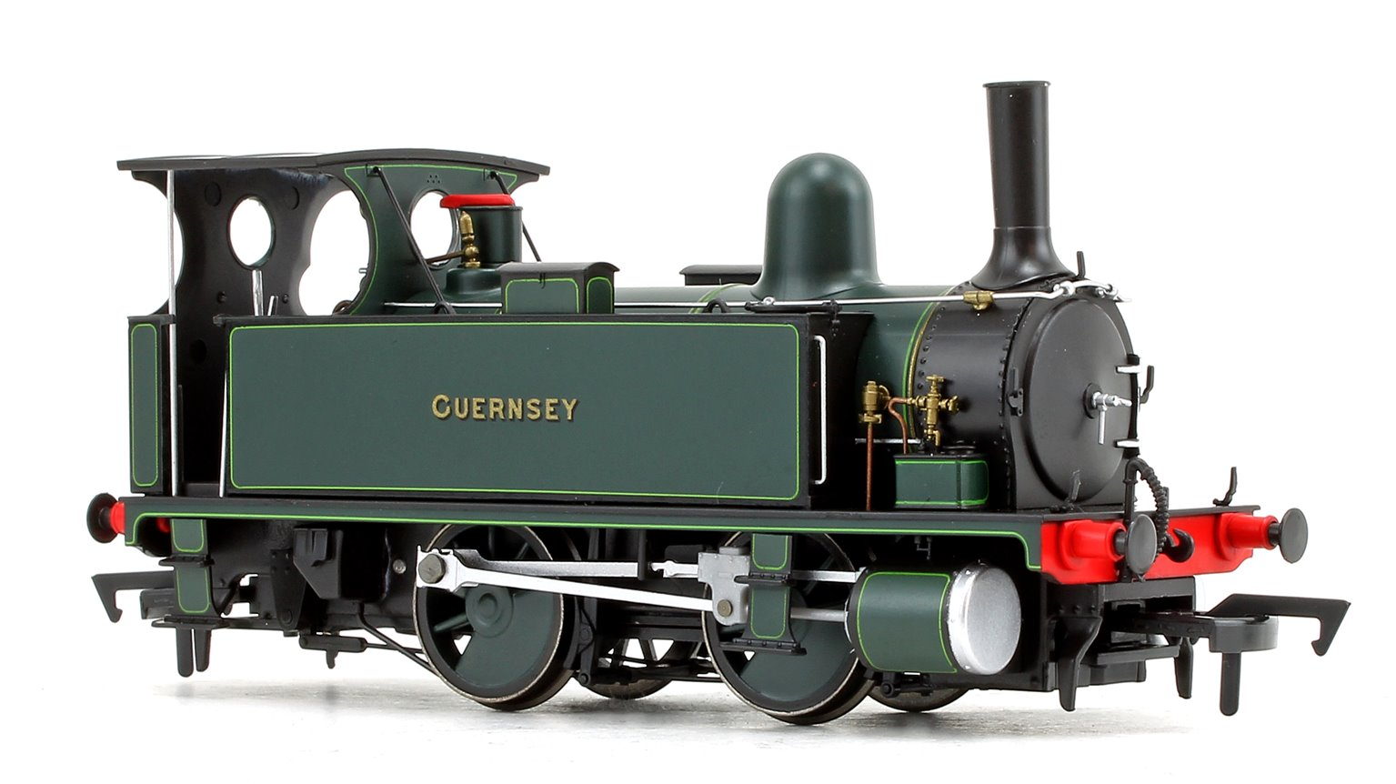 LSWR Class B4 'Guernsey' Dark Green Lined Livery 0-4-0 Tank Locomotive