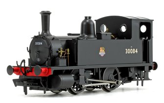 LSWR Class B4 BR Black (Early Crest) 0-4-0 Tank Locomotive No.30084