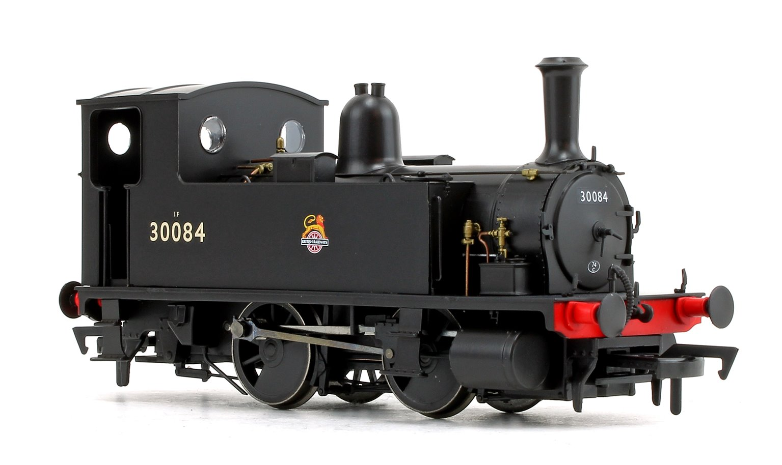 LSWR Class B4 BR Black (Early Crest) 0-4-0 Tank Locomotive No.30084 DCC FITTED