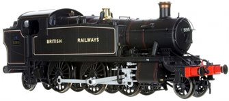 Large Prairie 2-6-2 Tank Locomotive #5190 Lined Black lettered BRITISH RAILWAYS - DCC Fitted