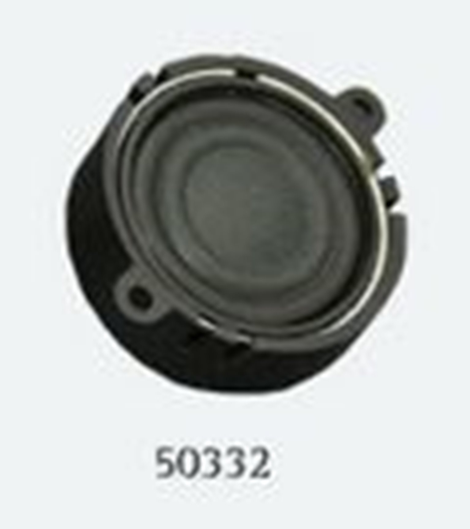 Loudspeaker 23mm, round, 4 Ohms, 1~2W with sound chamber - Loksound 4.0/Micro 4.0