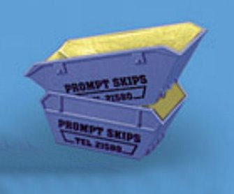Modelscene 5088S Skips (large & small), 'Skip Hire'