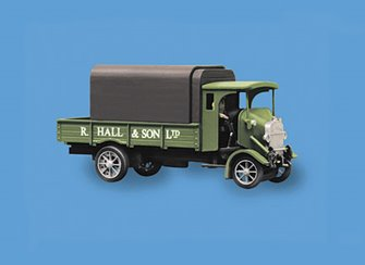 Thornycroft PB 4 ton Lorry, Hall and Sons Livery Vehicle Kit