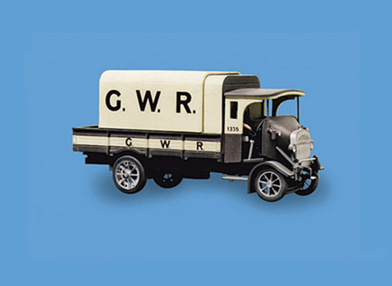 Thornycroft PB 4 ton Lorry, GWR Livery Vehicle Kit