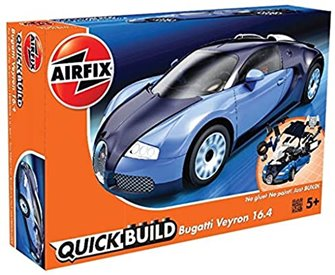 Airfix Quickbuild Model Kit - Bugatti Veyron 16.4