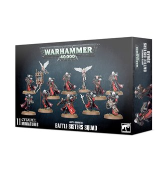 Warhammer 40,000 Adepta Sororitas Battle Sisters Squad