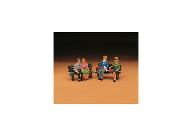 LGB Passenger Figures, Seated, Set 2 - G Gauge