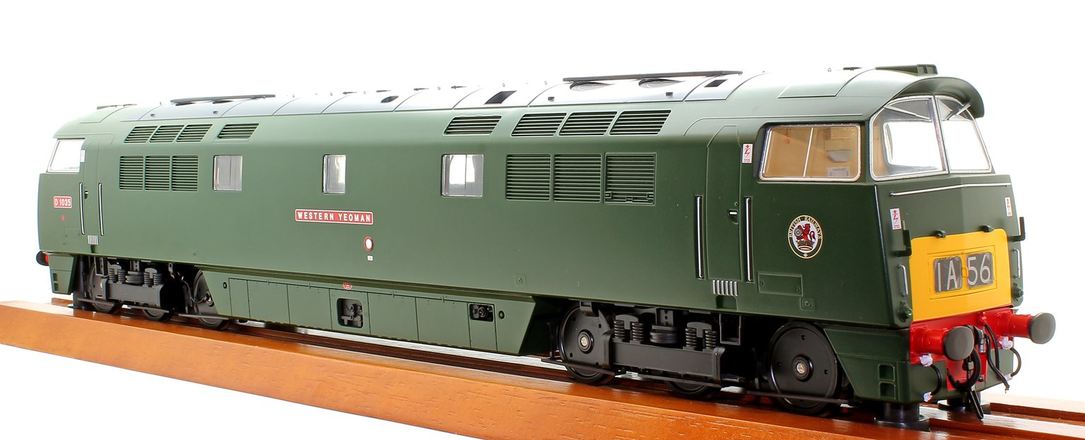 Class 52 D1035 Western Yeoman BR Green SYP