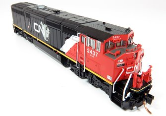 GE Dash 8-40CM Locomotive: Canadian National (North America) #2452 (DC Silent)