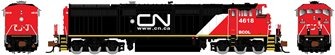 GE Dash 8-40CM Locomotive: British Columbia Railway (CN Website) #4615 (DC Silent)