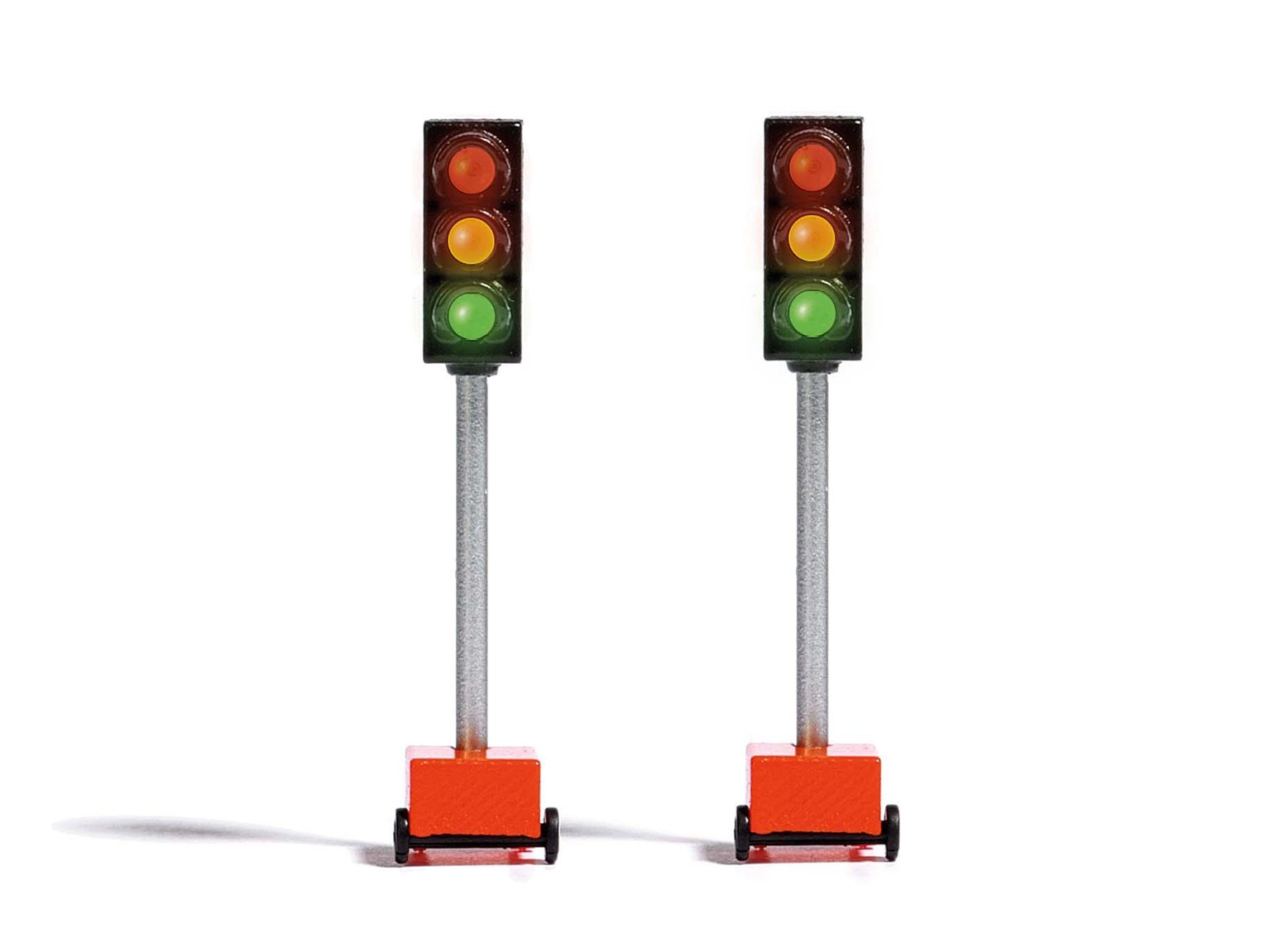Figures - Temporary Traffic Lights (2 Pack)