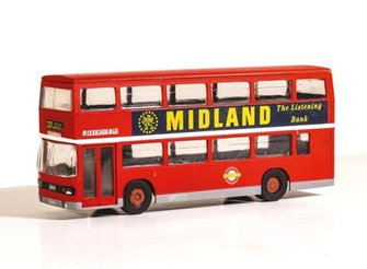 Leyland Olympian Double Deck Bus London Buses Riverside Kit