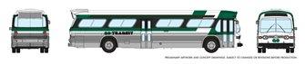 N Gauge New Look Bus – GO Transit