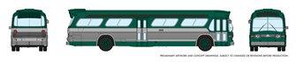 N Gauge New Look Bus – New York (Green)
