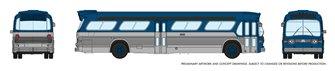 N Gauge New Look Bus - Generic Blue