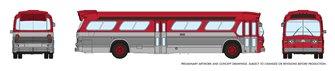 N Gauge New Look Bus - Generic Red