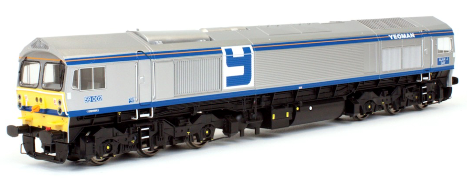 Class 59 002 'Alan J Day' Foster Yeoman Diesel Locomotive DCC Fitted