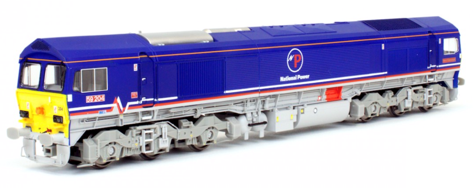 Class 59 204 National Power Diesel Locomotive DCC fitted