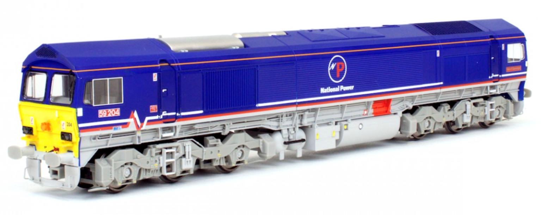 Class 59 204 National Power Diesel Locomotive