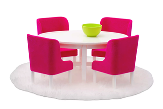 Lundby Doll's House Furniture Dining Table