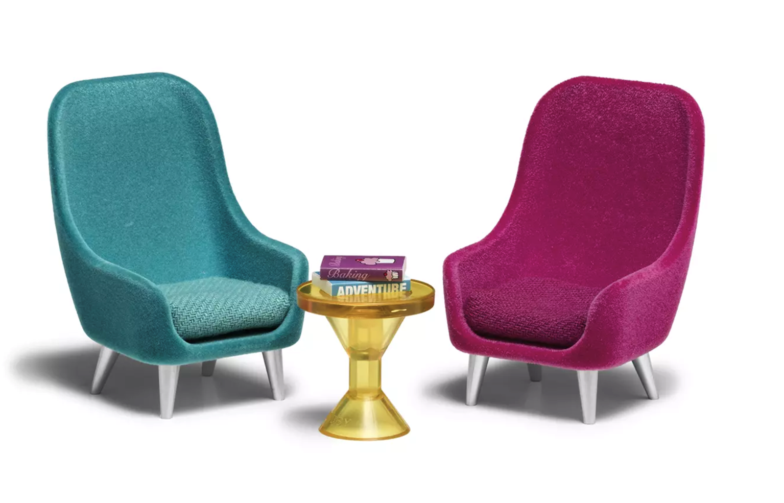 Lundby Doll's House Furniture Armchair Set