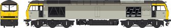 Class 60 Railfreight Grey unbranded/unnumbered