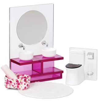 Lundby Doll's House Bathroom Suite Set
