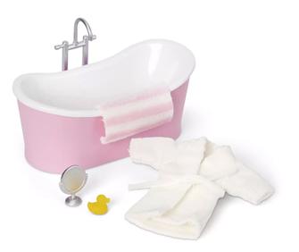 Lundby Doll's House Bathroom Bathtub Set