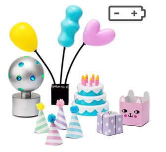 Lundby Doll's House Party Accessories