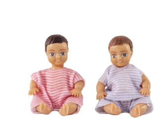 Lundby Doll's House Two Babies