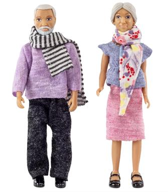 Lundby Doll's House Grandma and Grandpa