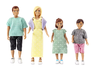 Lundby Doll's House Family Set