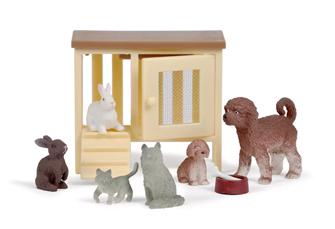 Lundby Doll's House Animal Pet Set