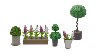 Lundby Doll's House Accessories Plants and Flowers Set
