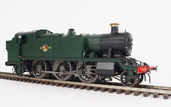 Class 61xx Large Prairie BR Green Unlined Late Crest un-numbered 2-6-2 Tank Locomotive
