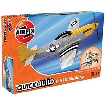 Airfix Quickbuild Model Kit - P-51D Mustang