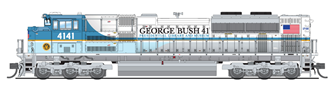 EMD SD70ACe, UP #4141, George Bush 41, 2018 Funeral Version, Paragon3 Sound/DC/DCC