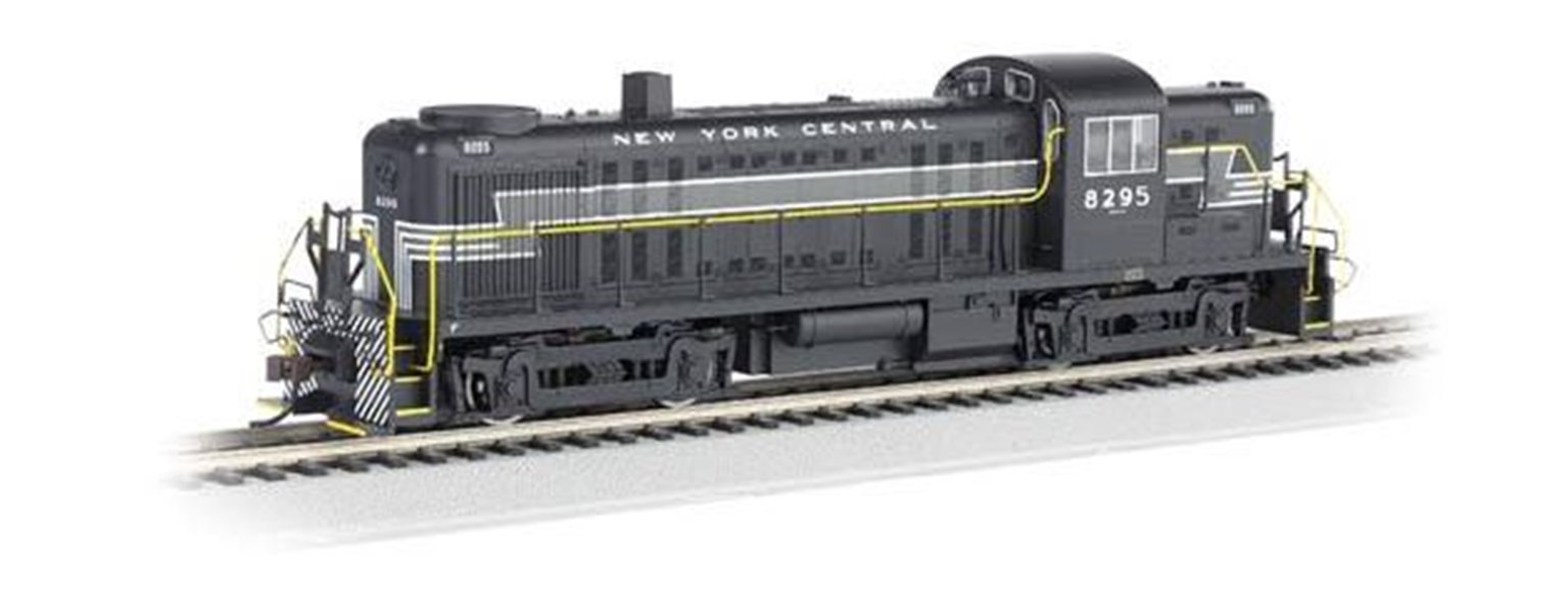 ALCO RS-3 Diesel Locomotive NYC #8295 (DCC On Board)